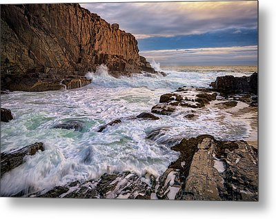 Metal Print featuring the photograph Bald Head Cliff by Rick Berk