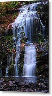 Bald River Falls Metal Print by Elijah Knight