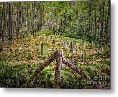 Bales Cemetery Metal Print