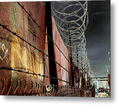 Ballard In Seattle Metal Print by Jeff Burgess