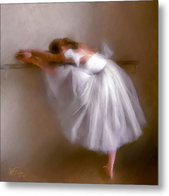 Metal Print featuring the photograph Ballerina 1 by Juan Carlos Ferro Duque
