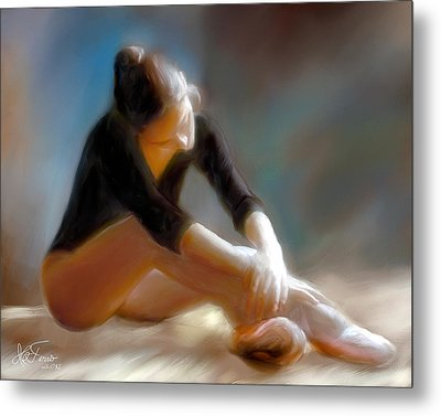 Metal Print featuring the photograph Ballerina 3 by Juan Carlos Ferro Duque