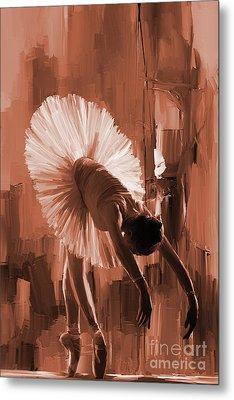 Ballerina 333d Metal Print by Gull G