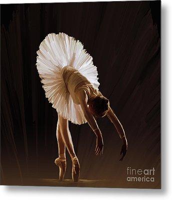 Ballerina 4321o Metal Print by Gull G