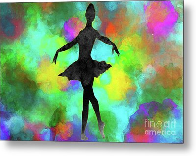 Ballerina Metal Print by David Millenheft