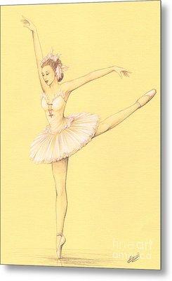 Ballerina II Metal Print by Enaile D Siffert