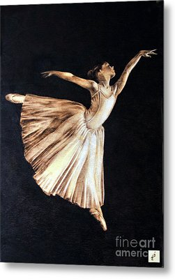 Ballerina Metal Print by Ilaria Andreucci