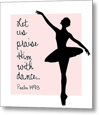 Ballerina Praise Metal Print by Nancy Ingersoll