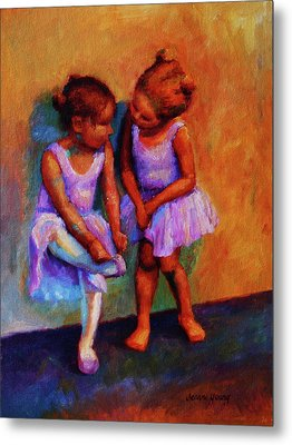 Ballerina Secrets Metal Print by Jeanne Young