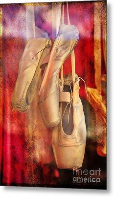 Ballerina Shoes Metal Print by Craig J Satterlee
