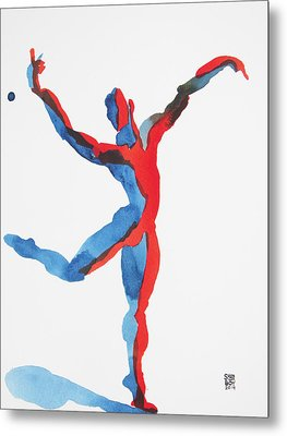 Ballet Dancer 3 Gesturing Metal Print