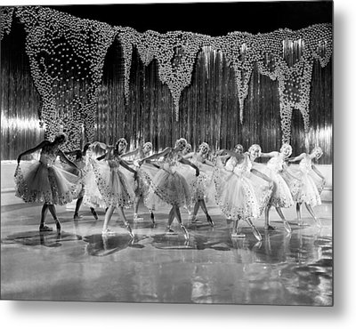 Ballet Dancers Metal Print by Underwood Archives