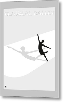 Ballet Metal Print by Joaquin Abella