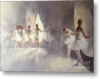 Ballet Studio  Metal Print by Peter Miller