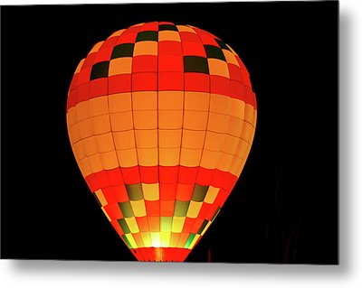 Balloon Glow 1 Metal Print by Lone Dakota Photography