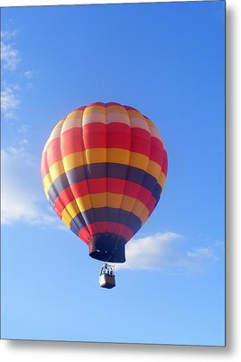 Balloon In Flight Metal Print