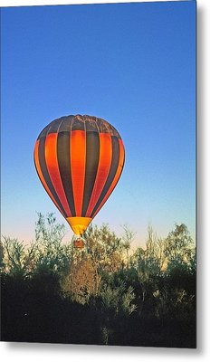 Balloon Launch Metal Print