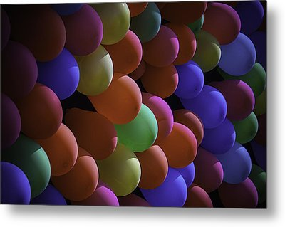 Balloons At The Fair Metal Print by Garry Gay