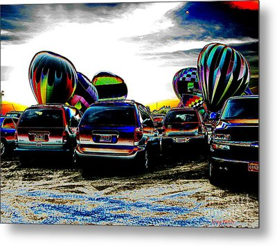 Balloons Metal Print by Greg Patzer