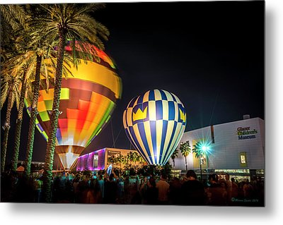 Balloons In The City Metal Print by Marvin Spates