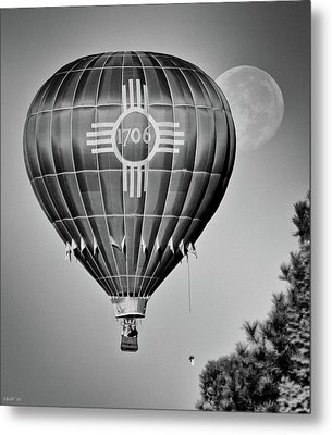 Metal Print featuring the photograph Ballunar Eclipse by Kevin Munro