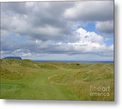 Metal Print featuring the photograph Ballyliffin Ireland Golf 1 by Jan Daniels