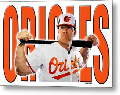 Baltimore Orioles Metal Print by Stephen Younts
