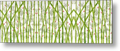Bamboo Forest Metal Print by Sumit Mehndiratta