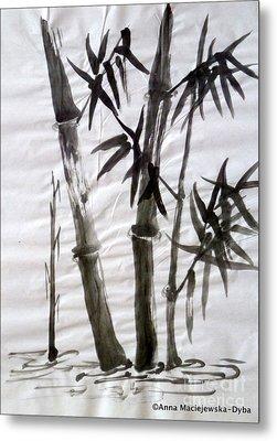 Bamboo Grove 6 Metal Print