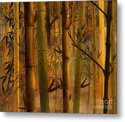 Bamboo Heaven Metal Print by Peter Awax