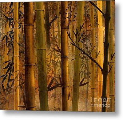 Bamboo Heaven Metal Print