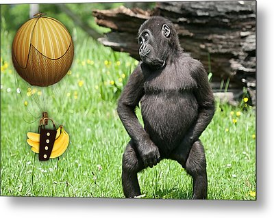 Banana Delivery Service Metal Print by Marvin Blaine