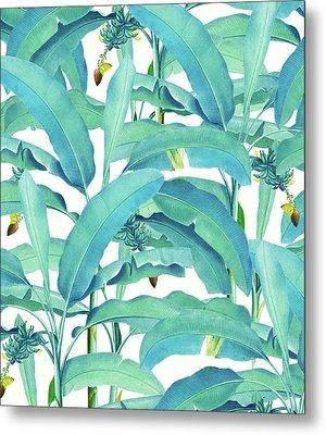 Banana Forest Metal Print