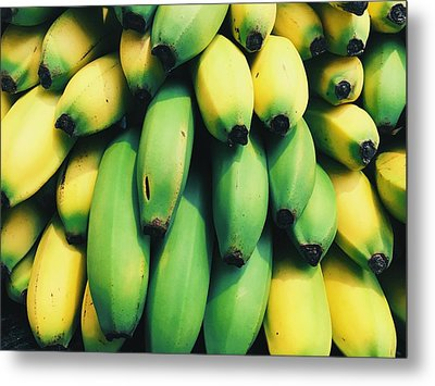 Bananas Metal Print by Happy Home Artistry