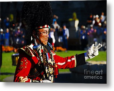 Band Leader Metal Print by David Lee Thompson