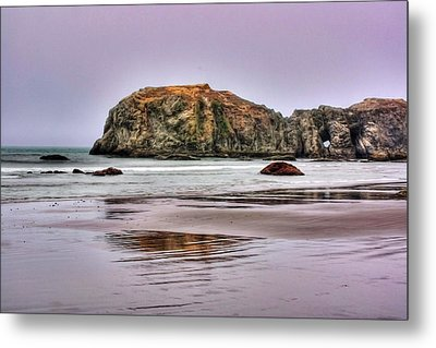Bandon Beach Oregon Metal Print