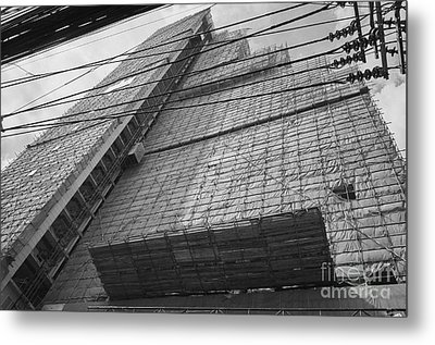Metal Print featuring the photograph Bangkok Under Construction 2 by Dean Harte