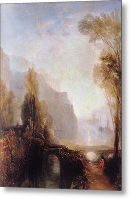 Banks Of The Loire Metal Print by Joseph William Mallord Turner