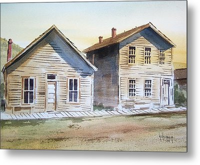 Bannack Ghost Town Montana Metal Print by Kevin Heaney