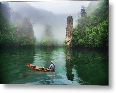 Metal Print featuring the photograph Baofeng by Wade Aiken