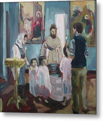 Baptism Metal Print by Laura Wilson