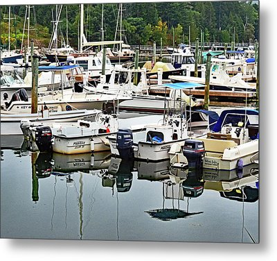 Bar Harbor, Maine No. 3 Metal Print by Sandy Taylor