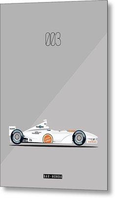 Bar Honda 003 F1 Poster Metal Print