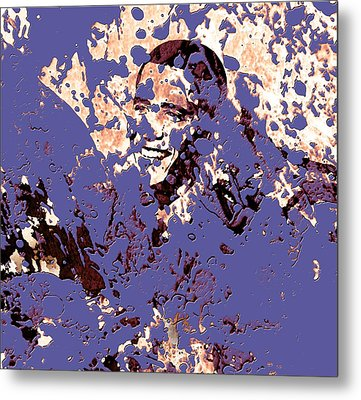 Barack Obama 44a Metal Print by Brian Reaves