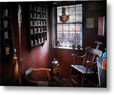 Barber - The Country Barber  Metal Print