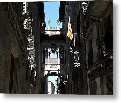 Metal Print featuring the photograph Barcelona 1 by Andrew Fare