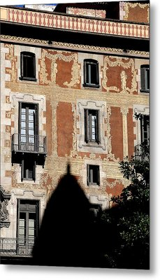 Metal Print featuring the photograph Barcelona 3 by Andrew Fare