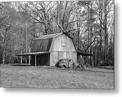Metal Print featuring the photograph Barn 2 by Mike McGlothlen