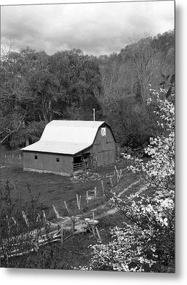 Metal Print featuring the photograph Barn 3 by Mike McGlothlen