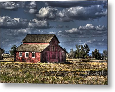 Barn After Storm Metal Print by Jim And Emily Bush